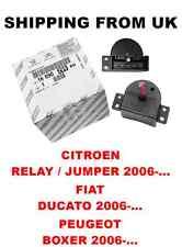 OE Riscaldatore Ventilatore Resistore Interruttore CITROEN Relay Jumper Fiat Ducato Peugeot Boxer