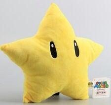 SUPER MARIO BROS. STELLA PELUCHE 32Cm - Yellow Star Plush Waluigi Daisy Peach