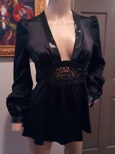 En Avec Sexy Noir Crochet Découpes Et Melero Cuir Ingwa Melo Au aBU7Aqn