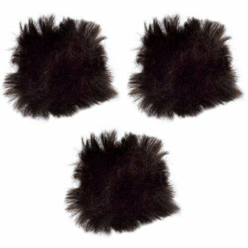 NEW Rode MINIFUR-LAV Synthetic Fur Windshield for Microphones (Pack of 3)
