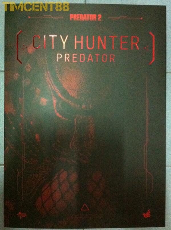 Ready  Hot Toys MMS173 Predator 2 - City Hunter Hunter Hunter Predator 1 6 Figure New 410a40