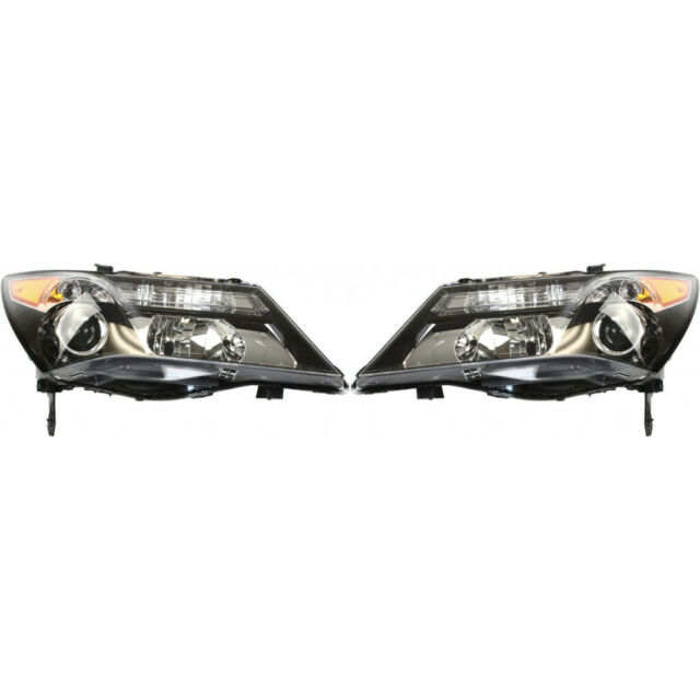 Fits 2010-2013 Acura MDX Driver And Passenger W/o Bulbs