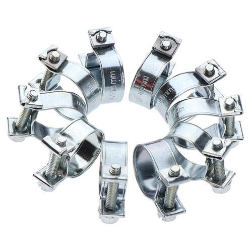 10 Stück Schlauchschellen Kraftstoffschellen Schelle für Diesel Benzinrohr