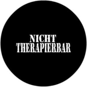 Nicht-Therapierbar-25mm-Button