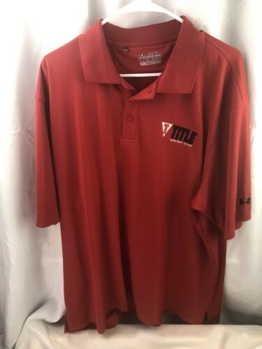 Men Under Armour Red 2XL Title Boxing Club Short S