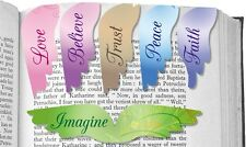 AngelStar Pack of 6 Inspirational Message Magnetic Bookmarks