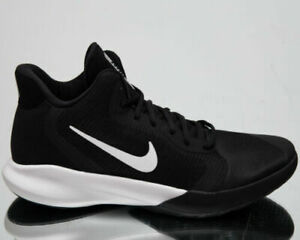 Nike-Precision-III-3-Men-039-s-New-Black-White-Basketball-Sneakers-AQ7495-002-nr-39