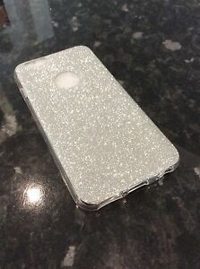 iPhone 6 6s Mobile Phone Soft Gel Ultra Thin Silver Glitter Case ... 34472f871