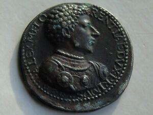 Italienne de MEDICIS RENAISSANCE médaille réamorçage en plomb 35 mm 13.78 g, Black History