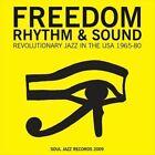 Freedom Rhythm and Sound: Revolutionary Jazz 1965-1980,Vol. 1 by Various Artists (Vinyl, Dec-2009, Soul Jazz)