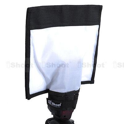 """10×11"""" Reflective Flash Diffuser Softbox Reflector for Canon 600EX/550EX/540EZ"""