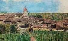 Edmond PETITJEAN 1844-1925 Domgermain (Lorraine) Huile Sur Toile tableau