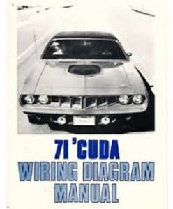 image is loading 1971-plymouth-barracuda-039-cuda-cuda-wiring-diagrams-