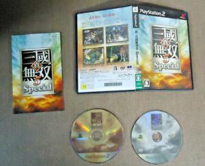 Sony-PlayStation-2-PS2-Complete-CIB-Resurface-Shin-Sangoku-Musou-5-Special-Japa