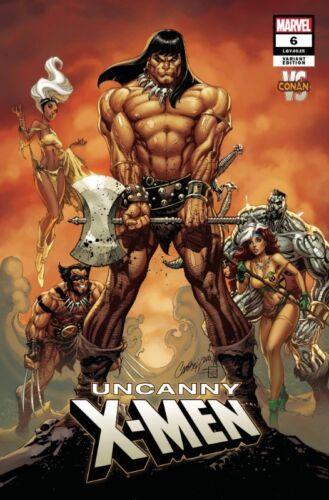 UNCANNY X-MEN #6 CONAN VS MARVEL VARIANT J SCOTT CAMPBELL DISASSEMBLED 121918