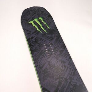 589-Never-Summer-Monster-Energy-034-BEAST-034-Edition-Snowboard-154cm-Limited-Edition