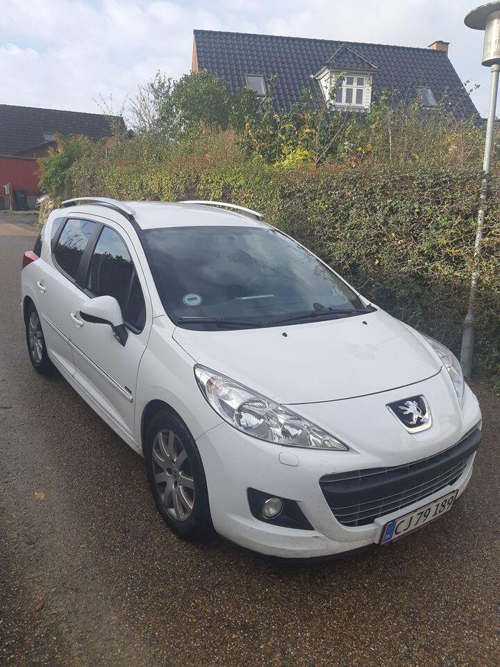 Peugeot 207, 1,6 HDi 92 Sportium SW, Diesel