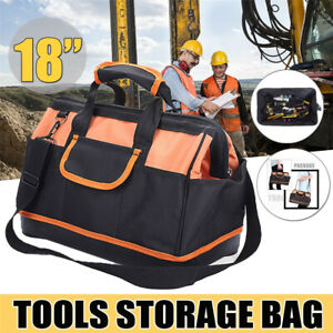 Portable-Electrician-Oxford-Cloth-Tool-Bag-Contractor-Storage-Hardware-Case-UK