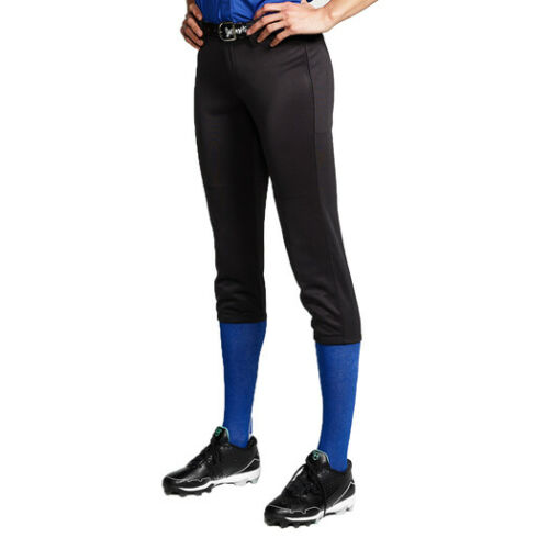 Intensity Women/'s Cooldown Fastpitch Softball Pants White Navy Black