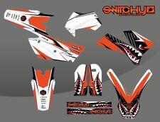 KIT ADESIVI GRAFICHE SPITFIRE REMASTERED KTM EXC F 250 450 525 2005 2006 2007