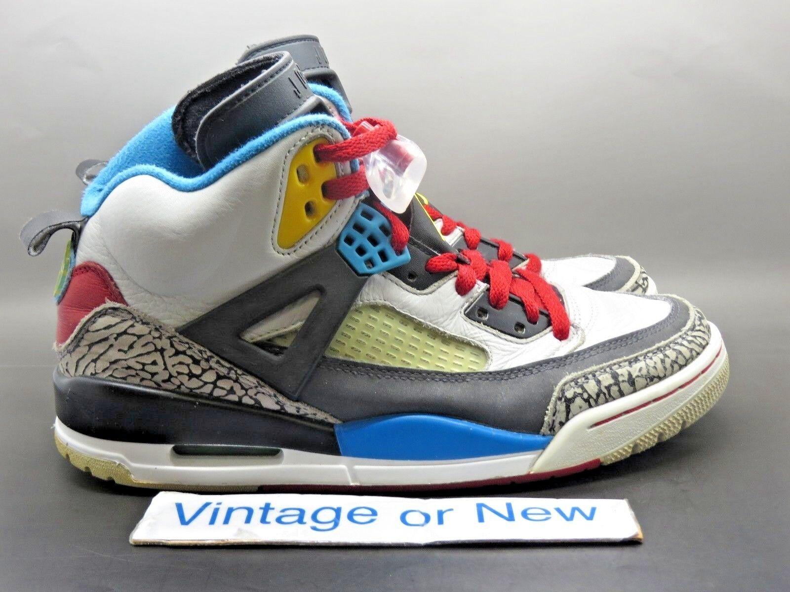 Nike Air Jordan Spizike Bordeaux 2012 sz 8