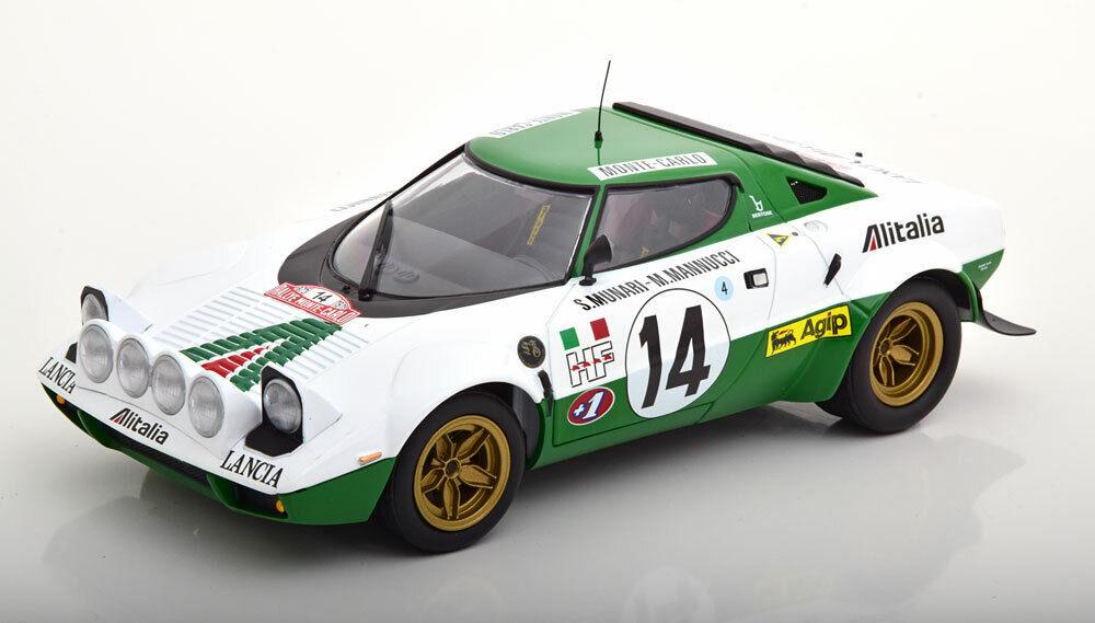 Minichamps Lancia Stratos Alitalia Winner Rally Monte Carlo 1975  14 1 18 LE504