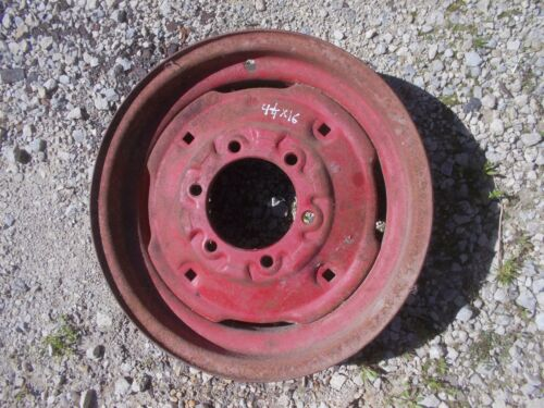 Farmall IH 460 560 tractor 16 x4 1//4 press style mount front rim for tire to hub