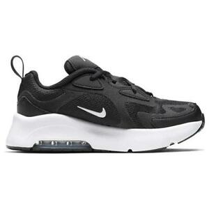 Details about Kids Nike Air Max 200 Trainers Black/White AT5628 002