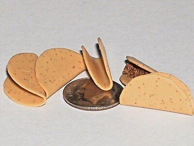 5pc miniature dollhouse barbie size tiny Gummi gummy bears candy cookie food NEW