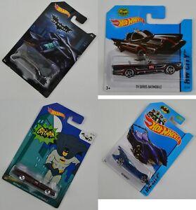 NUOVO-Hot-Wheels-Auto-Batman-il-Bat-Bat-Mobile-Classico-Serie-TV-2013-2014