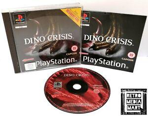 Dino-Crisis-Sony-Playstation-ps1-PAL-Game-Horror-ausgezeichnete-komplett