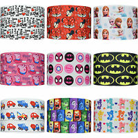 "200+ Designs 22mm (7/8"") Cartoon Grosgrain Ribbon Barbie Batman Frozen Kitty"