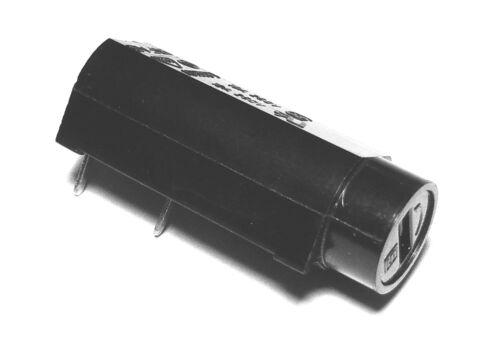 2 X Sicherungshalter 5x20 Horizontal für Schaltung Bedruckt; FUS5H