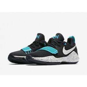 size 40 4d1db 69efb Details about Boys Nike PG 1 (GS) 880304-002 Black/Light Bone Brand New  Size 7Y
