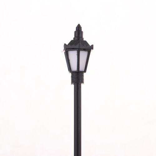 40 stück modell miniatur straßenlaternen ho oo leds garten lichter 1:75