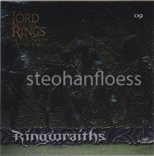 2002 Artbox Lord of the Rings Chrome Refractor Stickers You Pick Finish Your Set