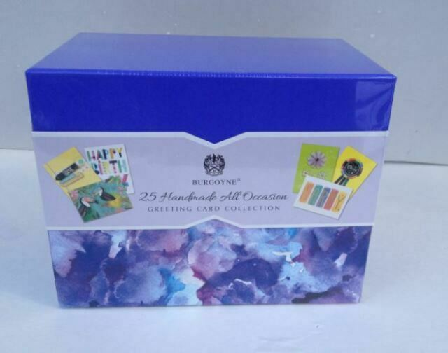 Handmade All Occasion Greeting Card Collection 25-Count by BURGOYNE