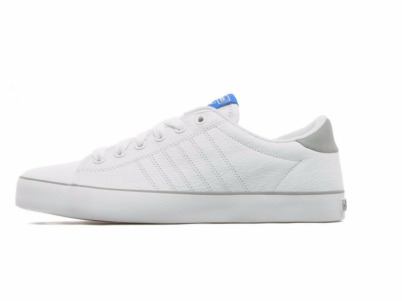 adidas INDOOR TENNIS TRBINERS MEN'S SHOES SNEBKERS SIZE 12 WHITE NEW RRP £67/-