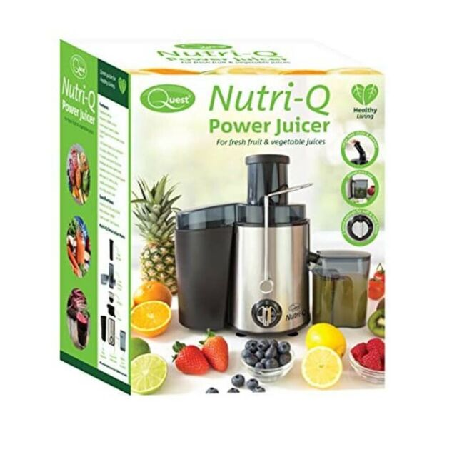 Nutri-Q Juice Extractor Whole Fruit Juicer 34730