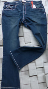 Sheego-Stretch-Jeans-Size-42-to-58-Blue-388-410