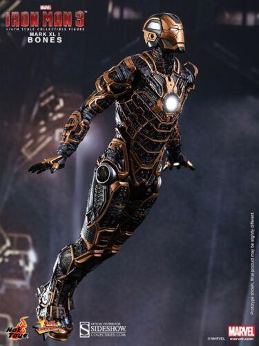 Hot Toys Iron Man 3 os Mark XLI 41 1//6 Figurine Sideshow NOUVEAU UK
