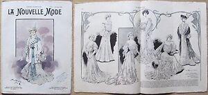 La-Nouvelle-MODE-N-4-1903-Rivista-di-moda-illustrata-con-paginone-centrale-gt