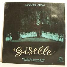 """33T GISELLE Ballet Disque LP 12"""" Adolphe ADAM ORCHESTRE CONCERTS PARIS G. RIVOLI"""