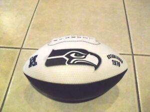 Image is loading Rare-SEATTLE-SEAHAWKS-Football-NFL-Football -Team-Collectible- 4870ffa49