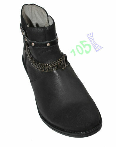 LABIUO Bottes Femme Cuir Hiver Knee Boots Equitation Larges Boots Femme Biker Bottes Hautes Longue Fermeture Eclair Boucle Chaussures 35-43 Vert,35