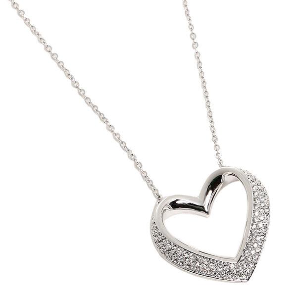 f97cbbaeabee2 AUTH Swarovski Cupidon Pendant Heart rhodium-plated clear crystal 5119331  NO BOX