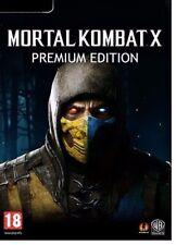 Mortal Kombat X Premium Edition PC Full Game w/ Season Pass - STEAM DOWNLOAD KEY