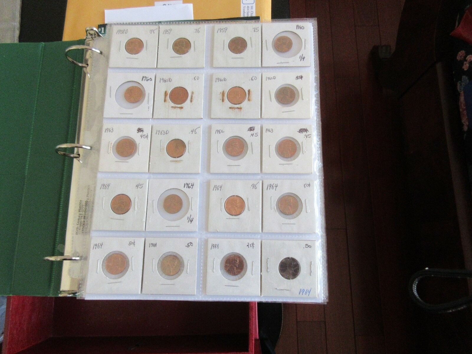 Lincoln Cent , 1958-1997 , Lot of 218 Circulated Coins