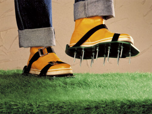Rasen Belüfter Schuhe Nagelschuhe Schuhe Vertikutierer