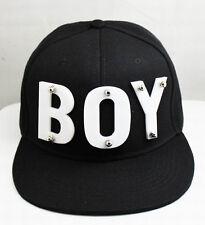 a1c8f2a9efc BOY Snapback Mens Cap Hat 3D Letters Rivet Spikes Bolted 1pc U choose color